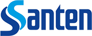 Santen Logo auf Eyefox